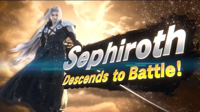 Sephiroth in Super Smash Bros.