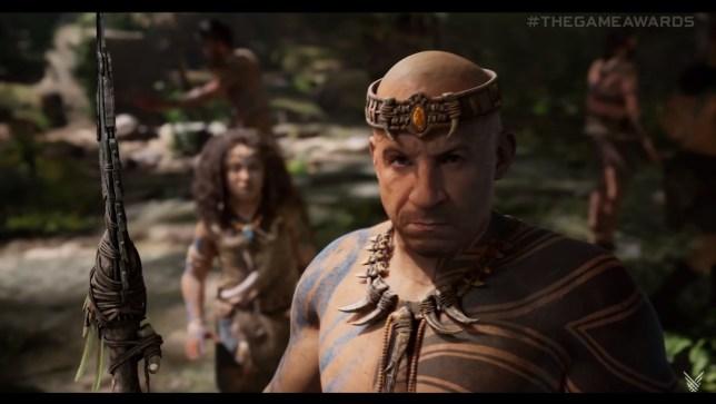 Ark 2 screenshot with Vin Diesel