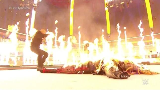 WWE TLC 2020: Randy Orton sets The Fiend Bray Wyatt on fire