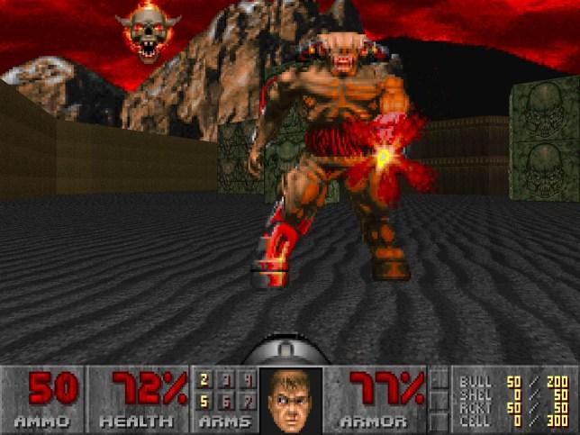 Doom Cyberdemon