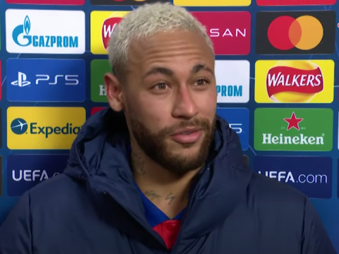 Neymar insists he wants to play with Lionel Messi next season after Paris Saint-Germain's win against Manchester United