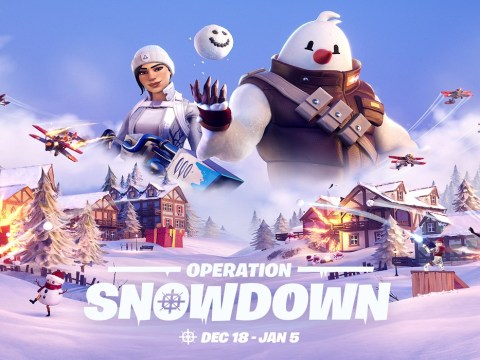 Fortnite Winterfest 2020 is called Operation Snowdown and is live now