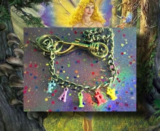 faeriebox fairy necklace