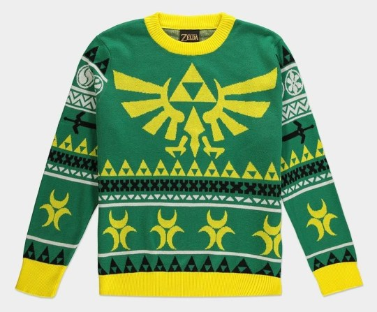 Zelda Christmas jumper