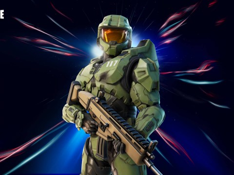 Master Chief from Halo is available in Fortnite now, The Walking Dead next week