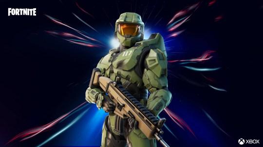 Halo The Master Chief in Fortnite