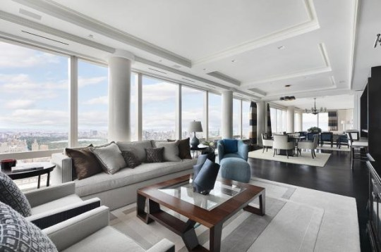 inside of six-bedroom apartment in new york