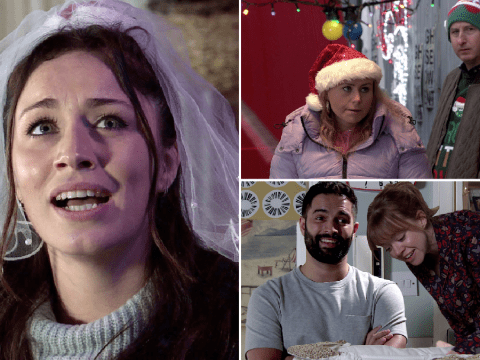 Coronation Street Christmas spoilers: 52 new images reveal baby joy, murder horror and wedding drama