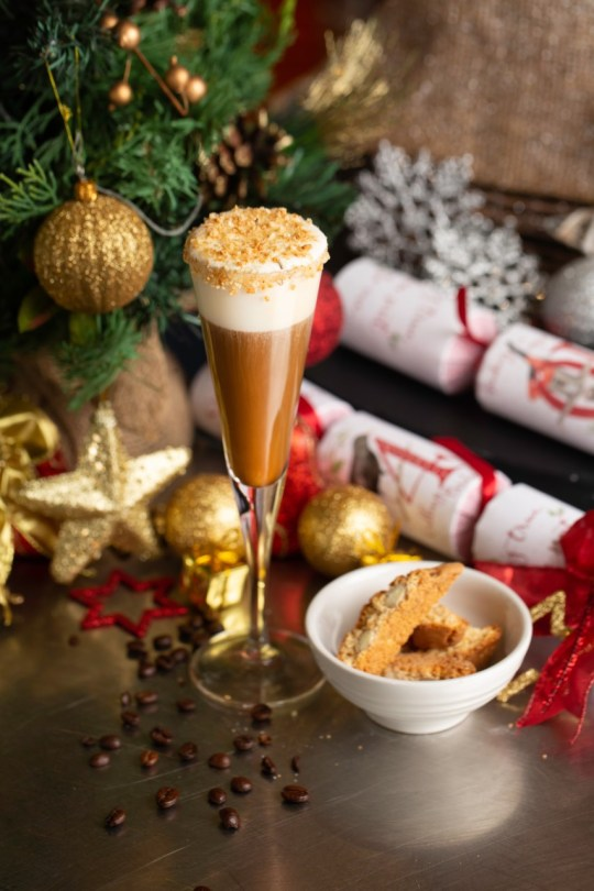 sunborn burbon hot chocolate