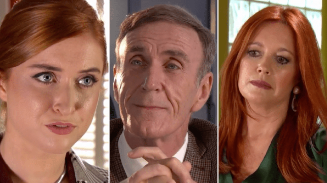 Verity, Edward and Diane in Hollyoaks