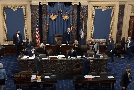 Joe Biden certification hearing halted