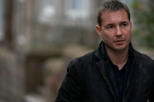 Martin Compston in BBC One series Traces