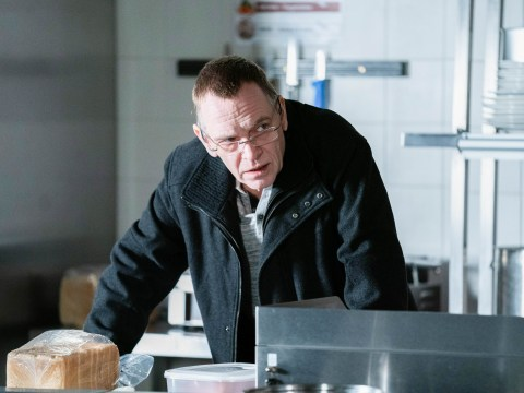 How does Ian Beale leave EastEnders?