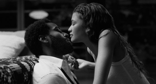John David Washington and Zendaya in Malcolm & Marie trailer