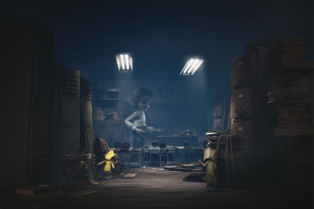 Little Nightmares 2 key art