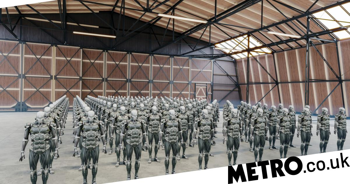 US government report says there is a 'moral imperative' to develop AI weapons - metro