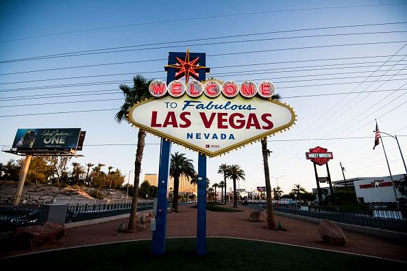 the Welcome to Fabulous Las Vegas Nevada sign