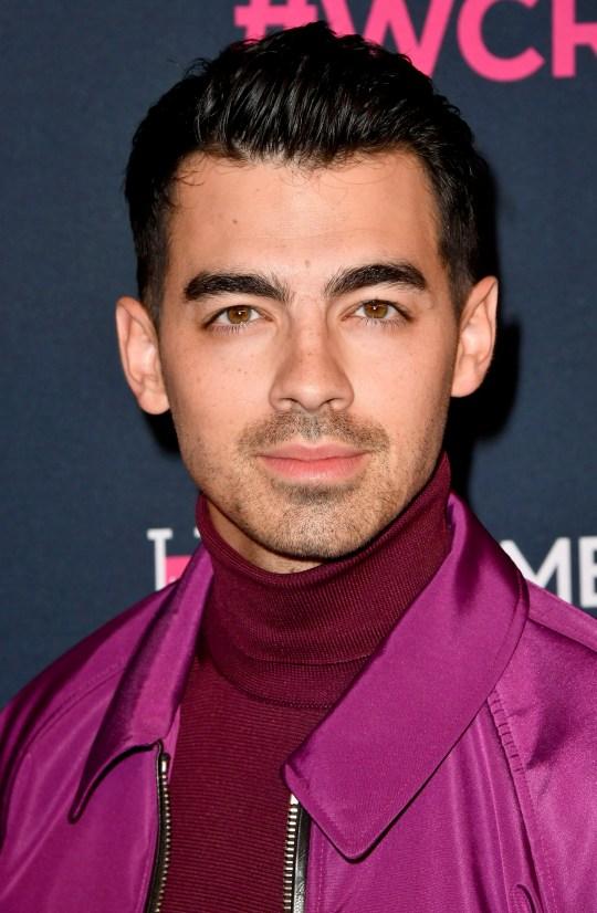 Joe Jonas on red carpet