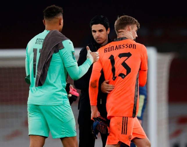 Arsenal trying to offload goalkeeper Runar Alex Runarsson just four months after signing him