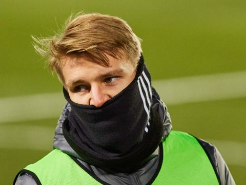 Real Mardid star Martin Odegaard hands in transfer request