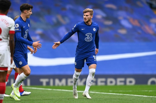 Both Kai Havertz and Timo Werner have struggled to justify their transfer fees