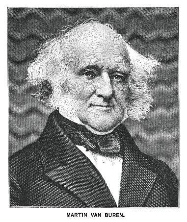 Portrait of Martin Van Buren, eighth president of the United States