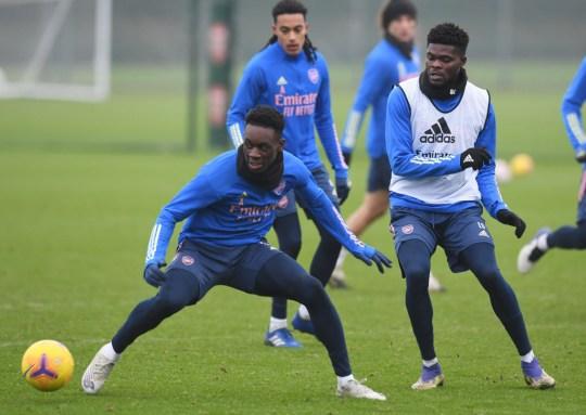 Arsenal midfielder Thomas Partey returned to full training earlier this week