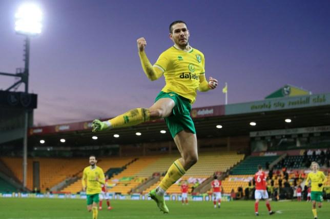 Emi Buendia scored promotion chasing Norwich's winning goal against Barnsley