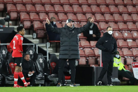 Jurgen Klopp Southampton v Liverpool - Premier League