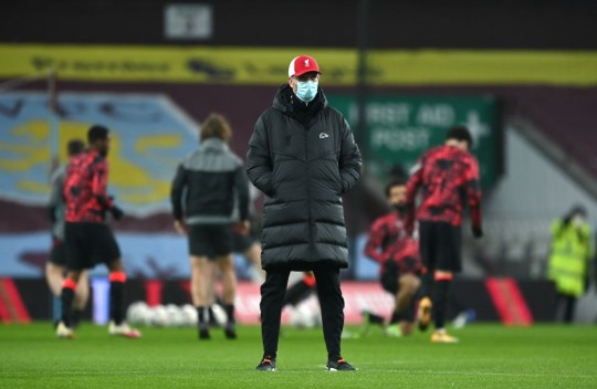 Klopp named a strong side at Villa Park
