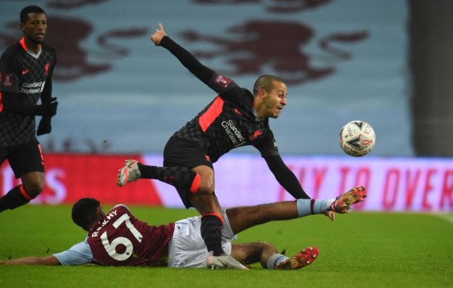 Substitute Thiago dazzled for the Reds