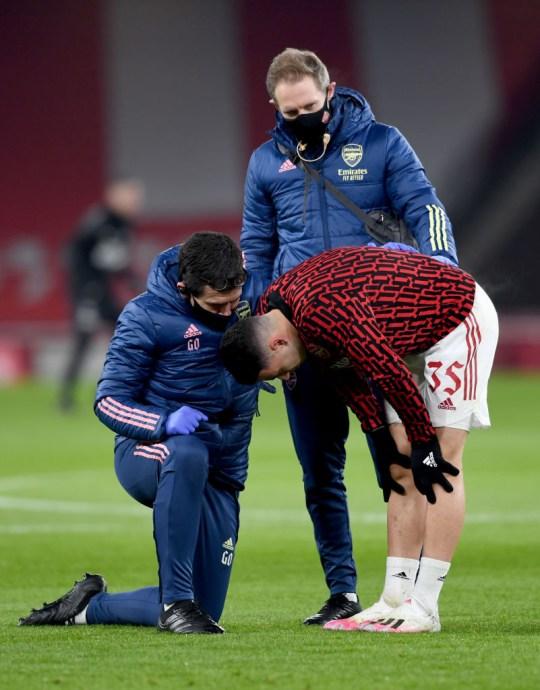 Gabriel Martinelli Arsenal v Newcastle United - Tercera ronda de la Copa FA