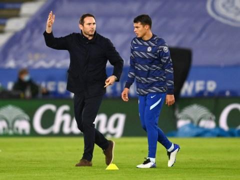 Chelsea star Thiago Silva sends message to 'legend' Frank Lampard after dismissal