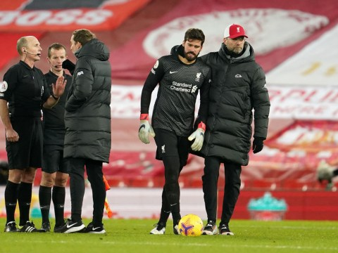 Jurgen Klopp reveals what Alisson said about Burnley penalty after Liverpool's shock defeat