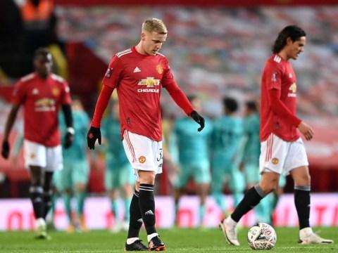Bruno Fernandes sympathises with Donny van de Beek's struggles at Man Utd: 'I would not be happy'