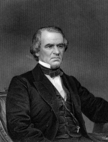 Portrait of President Andrew Johnson