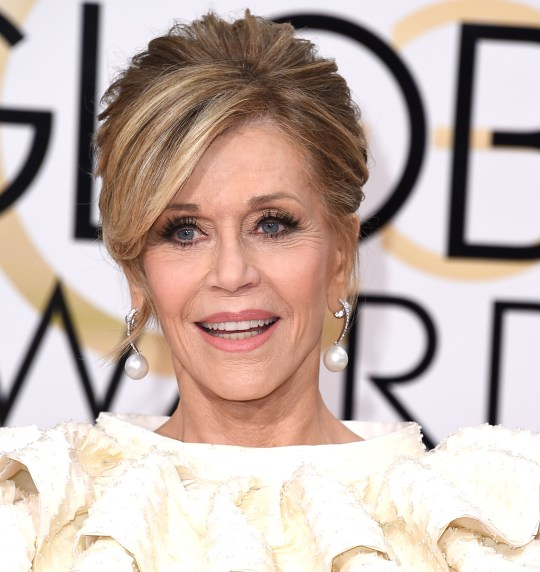 Jane Fonda at the 73rd Annual Golden Globe Awards