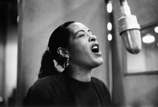 Billie Holiday recording Lady In Satin