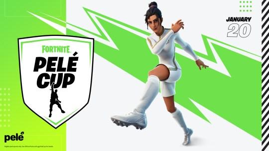 Global Football Pele Cup logo