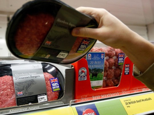 British-made products on the shelves at Aldi