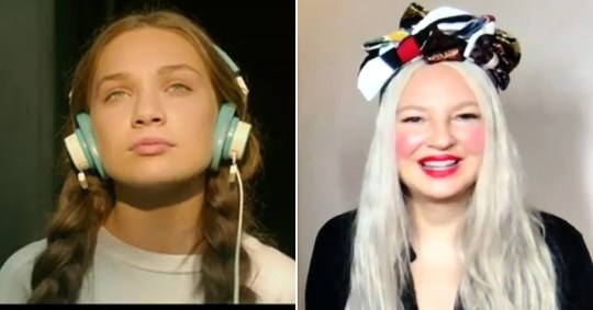 Maddie Ziegler in Music and Sia on The Sunday Project