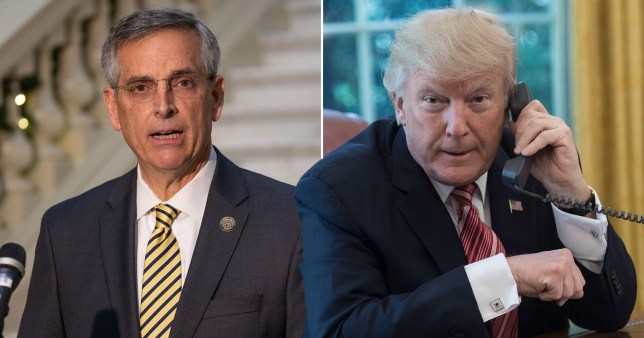 Donald Trump calls for election chief 'finds' votes in leaked name to reverse consequence