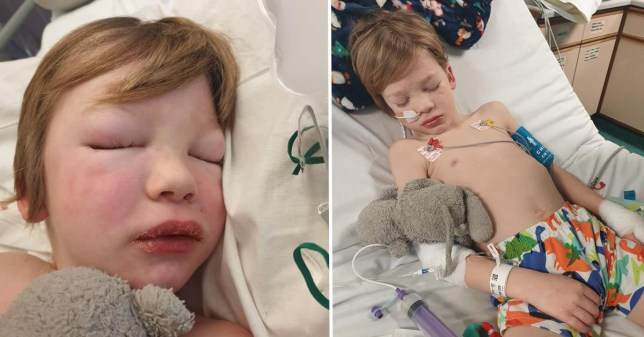 Mum shares of picture of son battling illness \'linked to Covid\'Mum shares of picture of son battling illness \'linked to Covid\'