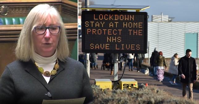 Mps approve lockdown three