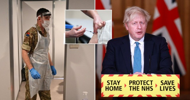 Boris to address nation 'to unveil army-led vaccine rollout plan'
