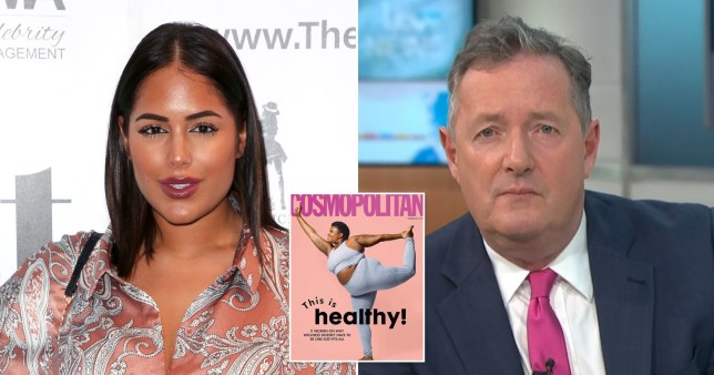 Love Island's Malin Andersson and GMB's Piers Morgan
