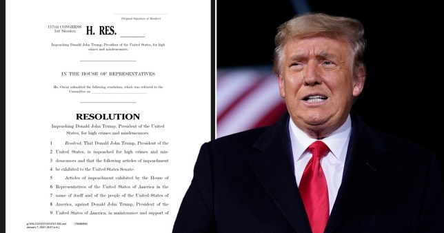 Donald Trump could be removed from office by new articles of impeachment.