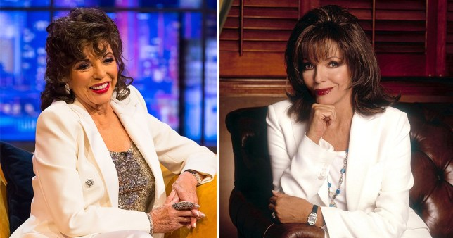 Dame Joan Collins will reveal all in her newly-published diaries