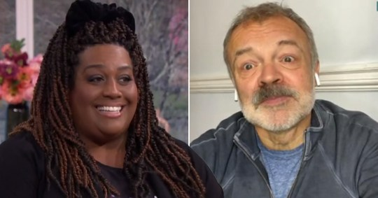 Alison Hammond puts her foot in it as she asks about Graham Norton\'s dead dog
