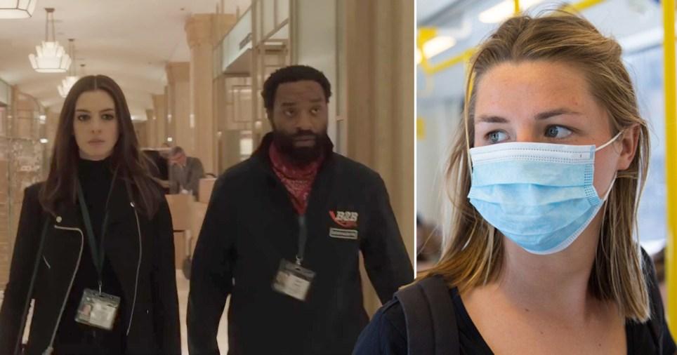 Anne Hathaway and Chiwetel Ejiofor in coronavirus movie Locked Down